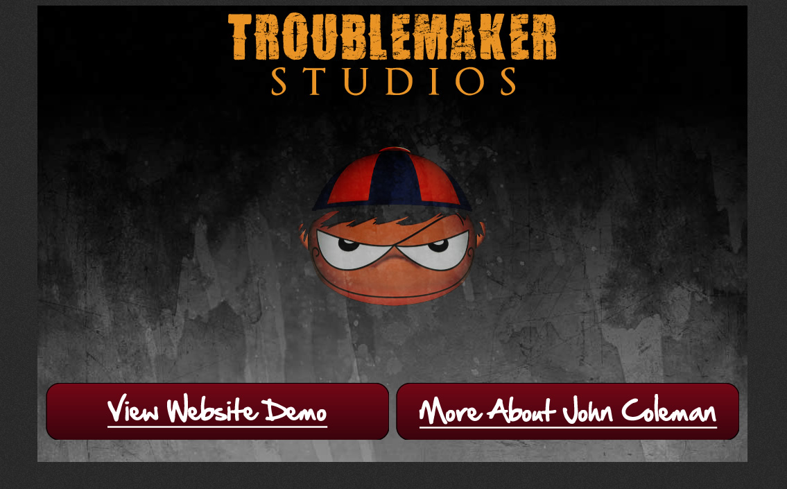 Troublemaker Website Demo