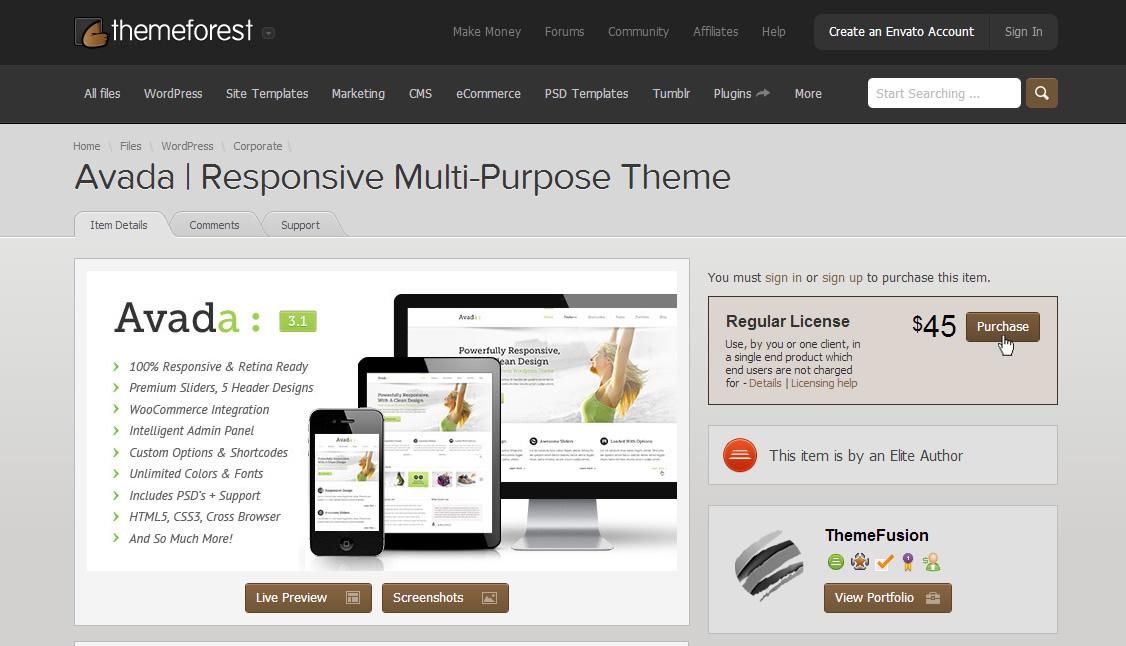 How to Buy a WordPress Theme