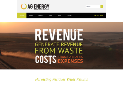 Responsive (WordPress) Website Development for Local Alternative Energy Company