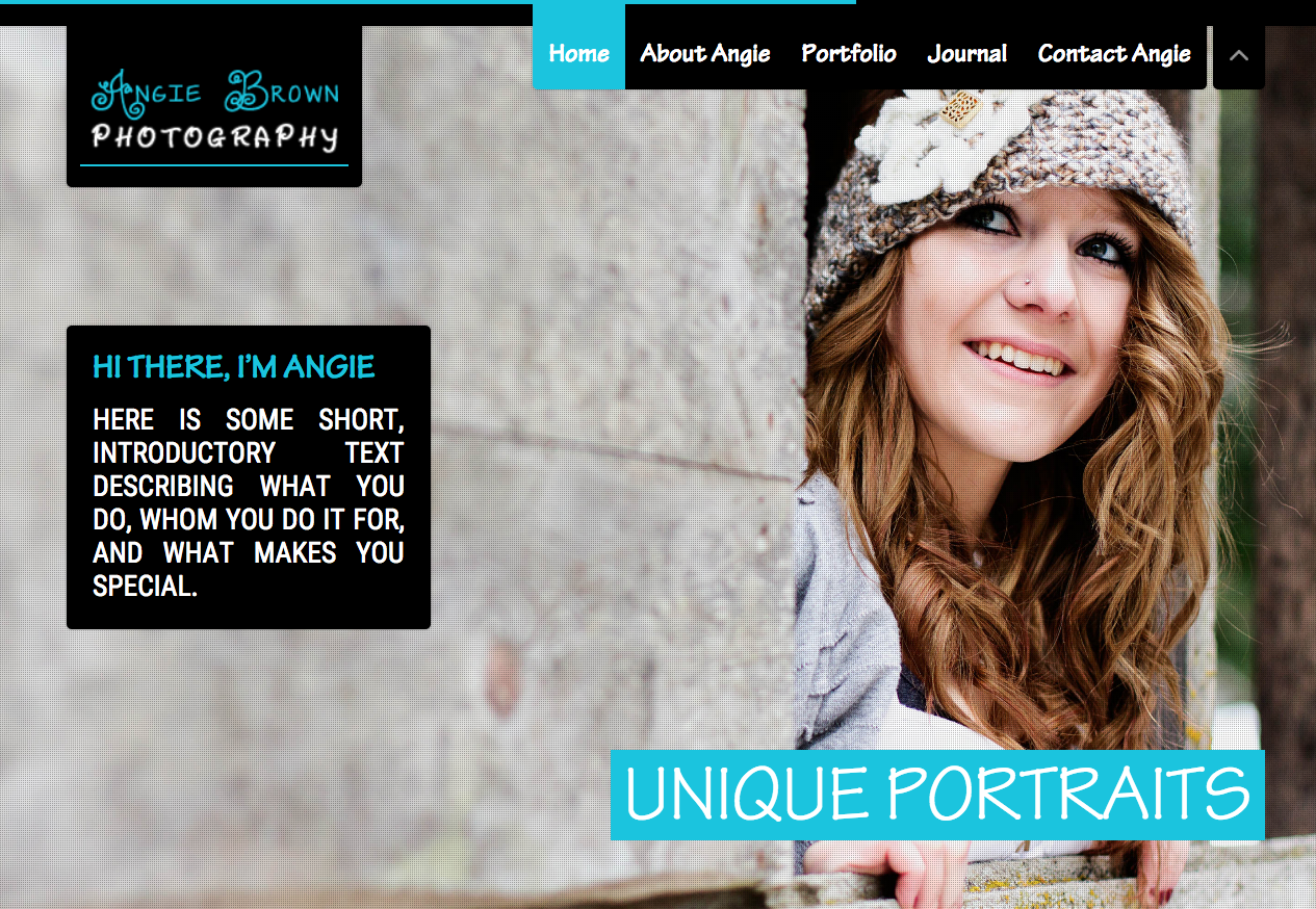 Responsive Photography Website