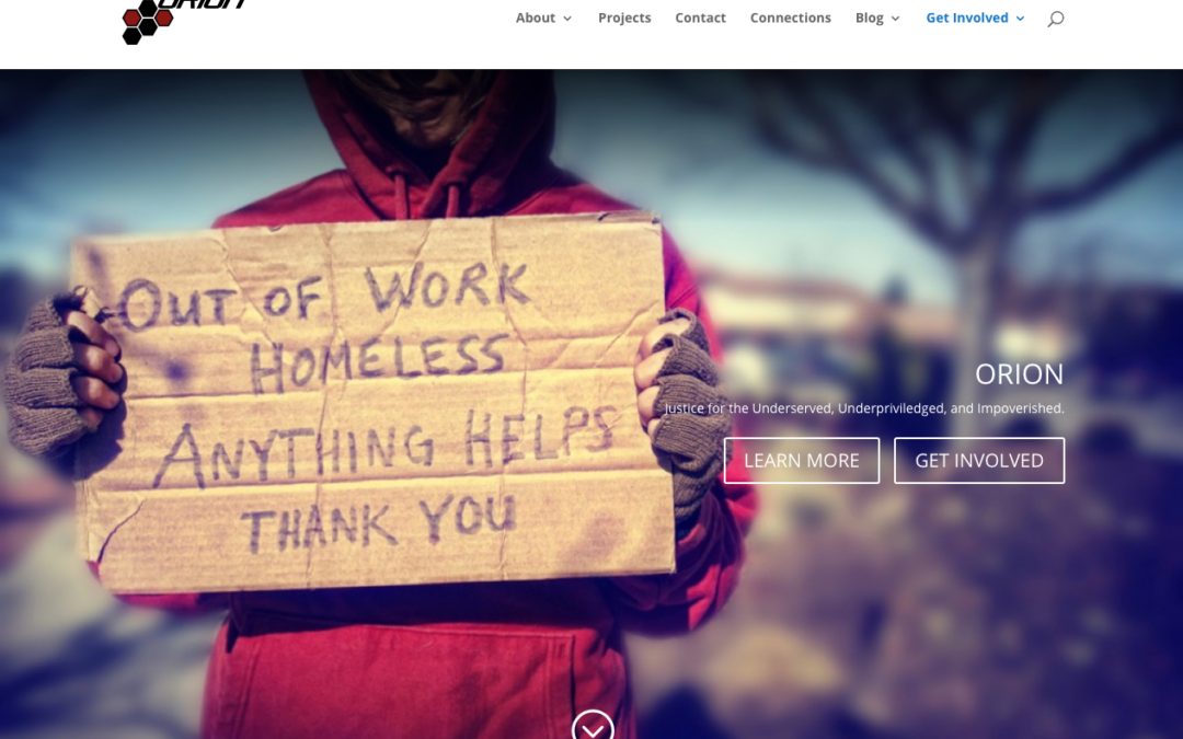 Orion – Advocacy for the Homeless