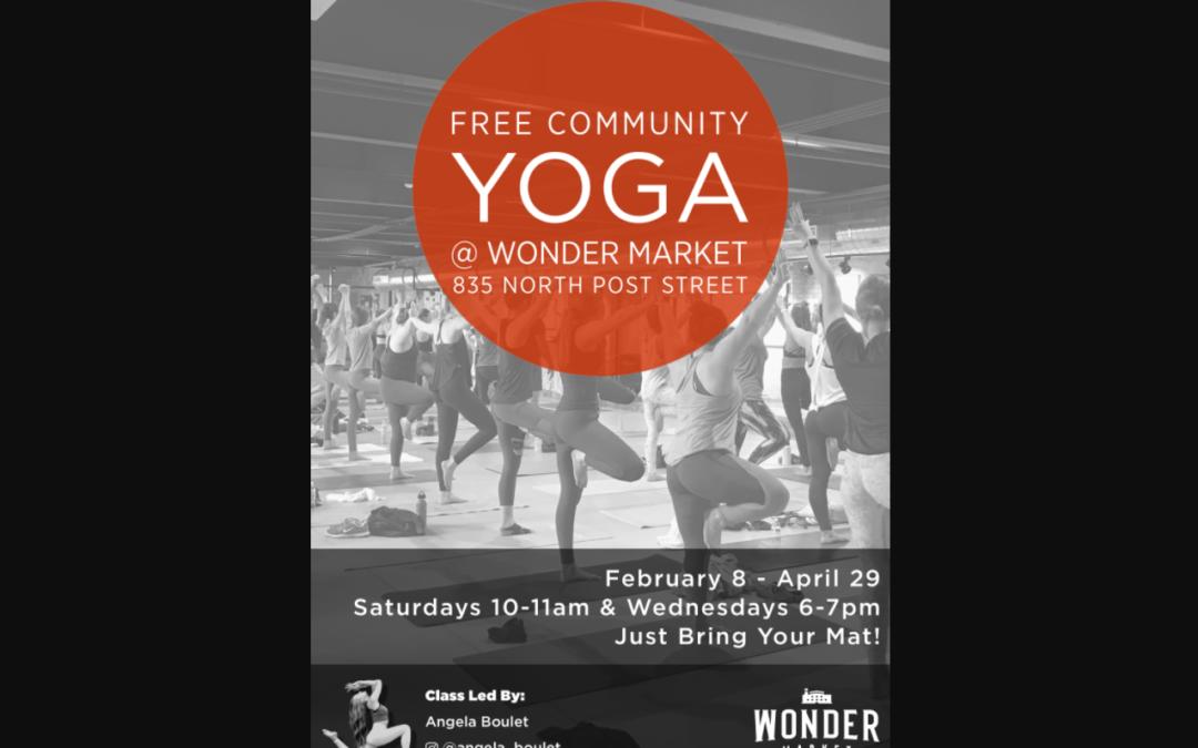 Free Community Yoga Digital Flyer & Sandwich Board – Wonder Spokane
