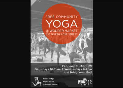 Free Community Yoga Digital Flyer & Sandwich Board – Wonder Spokane