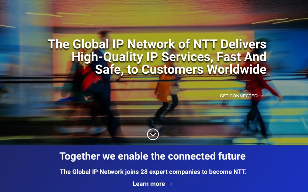 NTT – Global IP Network